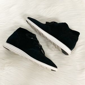 Cole Haan Shoes - Cole Haan | Grand OS Black Suede Chukka Boots